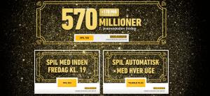 Eurojackpot - Mega Jackpot 570 millioner